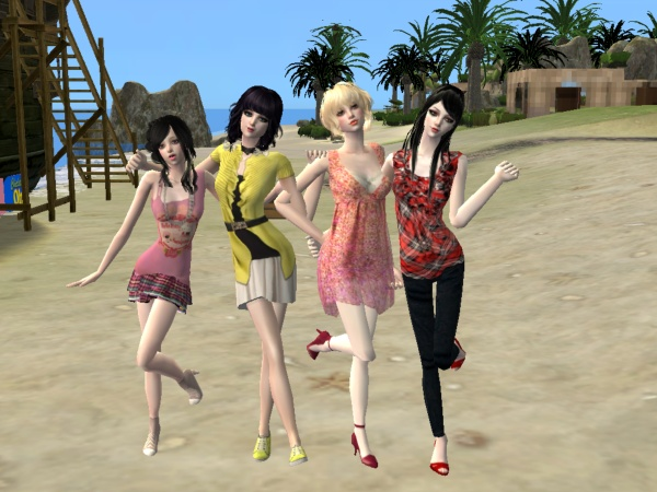 Flickr pics of my sims. Bffs_b10