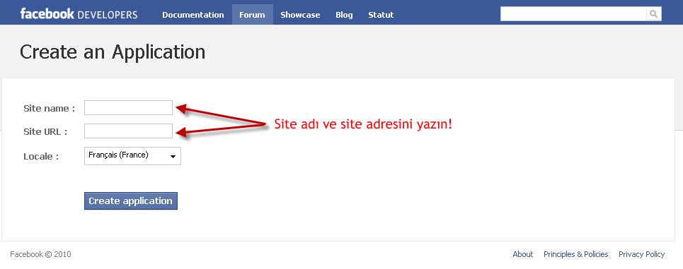 Facebook bağlantı sistemi Sitead11