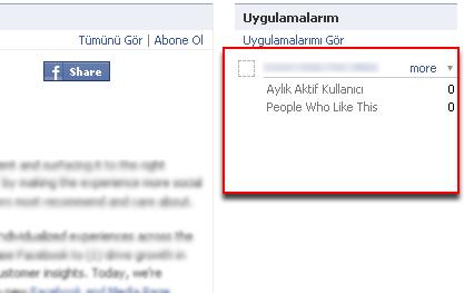 Facebook bağlantı sistemi Uygula10