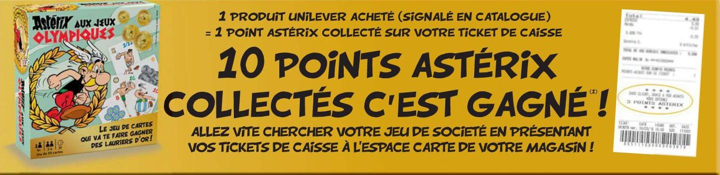 """Collection de cartes """"Astérix aux Jeux Olympiques""""  et balles magiques (cora et match) Asteri16"""