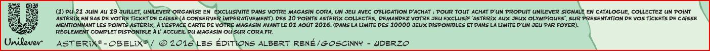 """Collection de cartes """"Astérix aux Jeux Olympiques""""  et balles magiques (cora et match) Asteri17"""