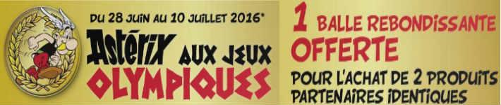 """Collection de cartes """"Astérix aux Jeux Olympiques""""  et balles magiques (cora et match) Superm10"""