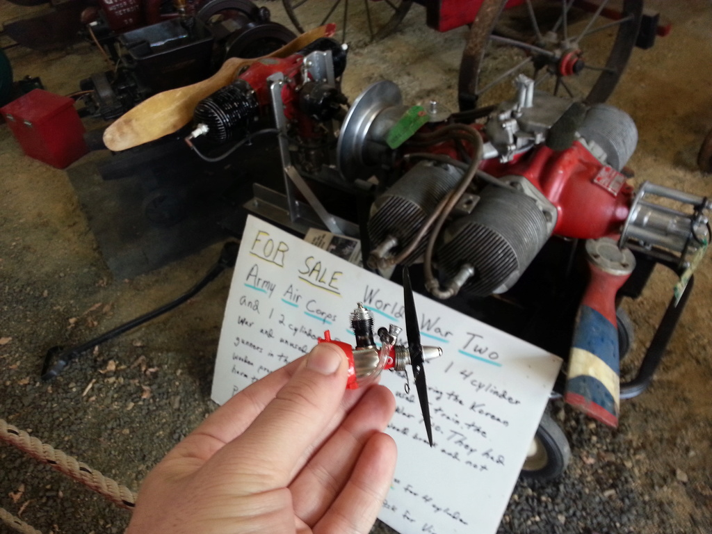 Follow The World's Smallest Traveling Engine! 20160743
