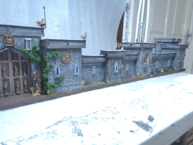 city walls and gatehouse set F310