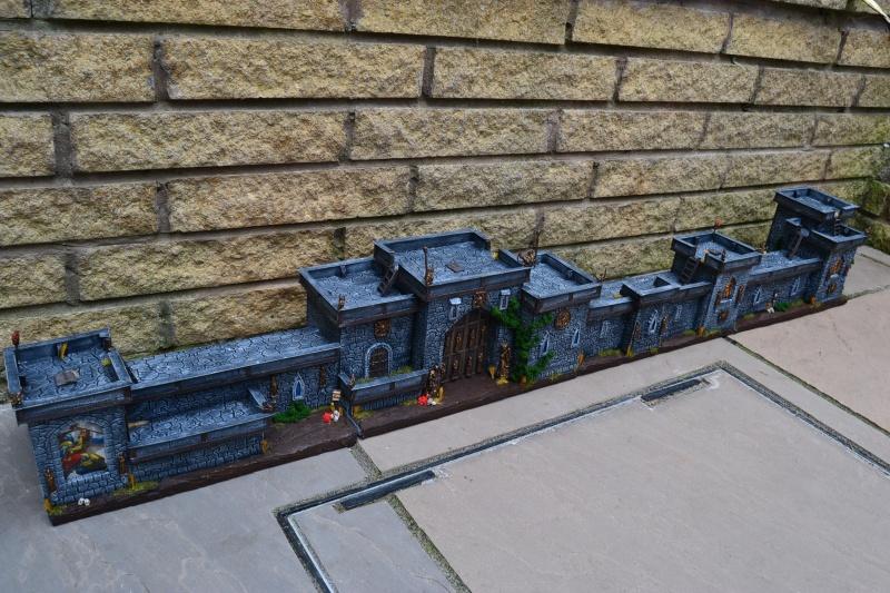 city walls and gatehouse set F410