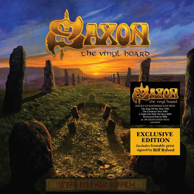 """SAXON  """"The Vinyl Hoard"""" (OCT 2016) Saxonh11"""