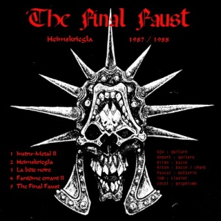 FAUST  et THE FINAL FAUST (1983 -1988) The_fi11