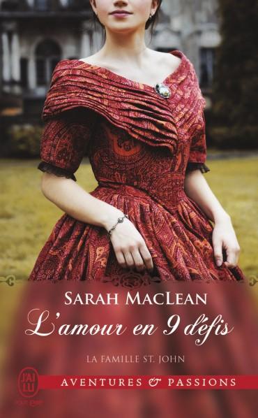 MACLEAN Sarah - LA FAMILLE SAINT JOHN - Tome 1 : L'amour en 9 défis L-amou10