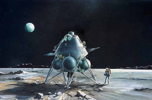 Lunar Excursion Module – Grumman – 1962 – 1/48éme par Tezio 82745210