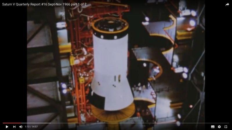 Deuxième étage factice de Saturn V Captur10