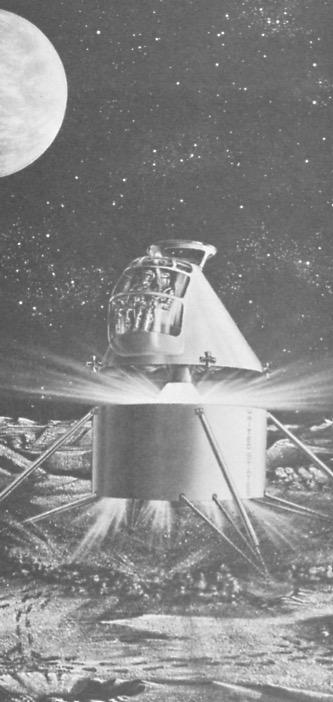 Lunar Excursion Module – Grumman – 1962 – 1/48éme par Tezio Lem_ut10
