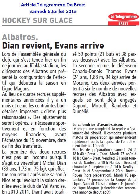 Articles Sur Les Albatros 2013 - 2014 Articl12