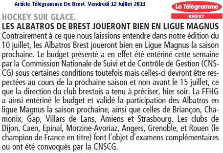 Articles Sur Les Albatros 2013 - 2014 Articl16