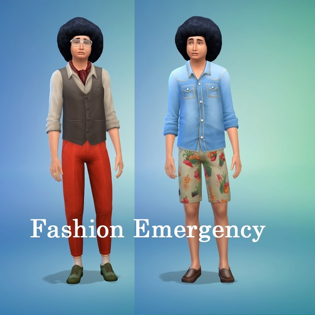 Sims Who Dressed in the Dark SIMs 4 [2014-2018] - Page 5 Pancak10
