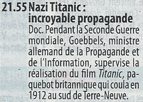 Nazi Titanic : incroyable propagande Titani10