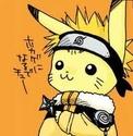 Pokemon ou Naruto Pikana10