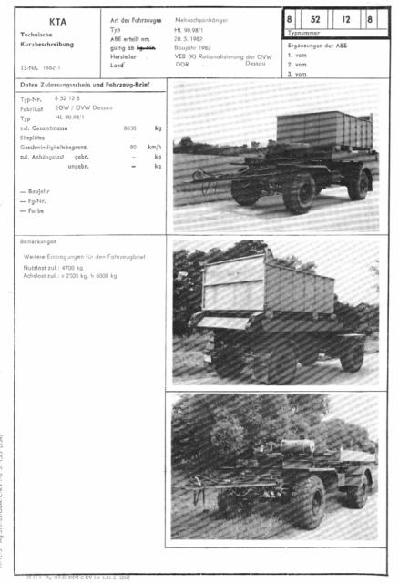 Containeranhänger HL90.98/1  8_52_110