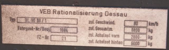 Containeranhänger HL90.98/1  Zwisch10