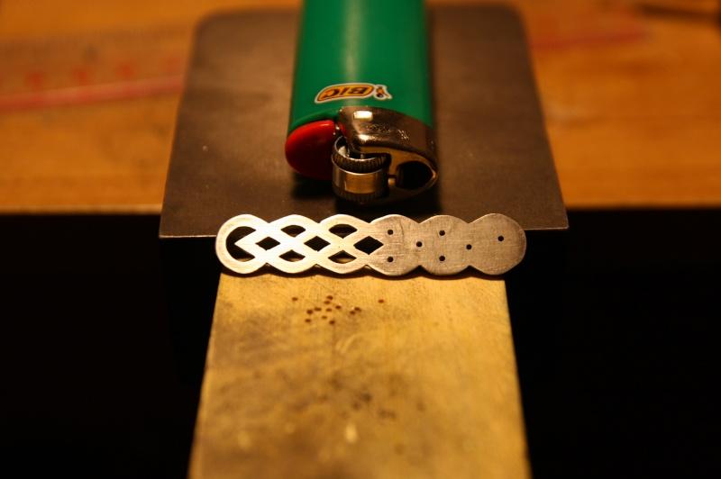 Ma seconde réalisation, bracelet entrelac celtique Img_9921