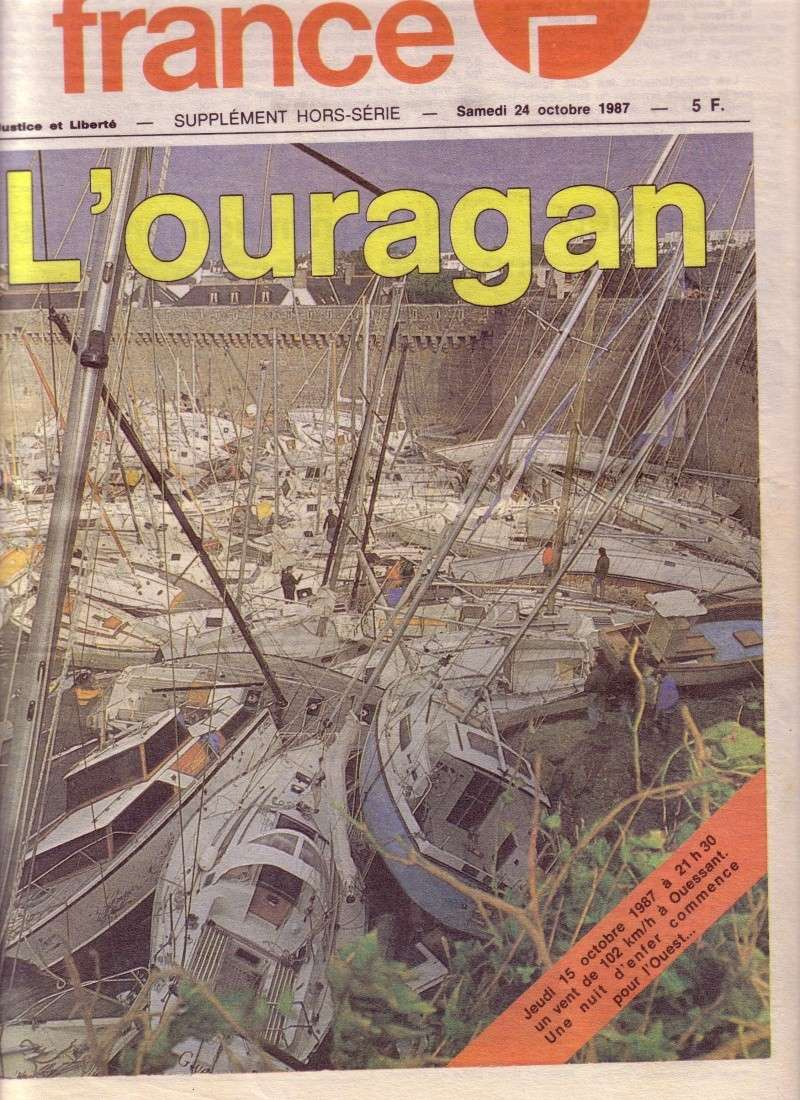 L'ouragan en Bretagne octobre 1987 110