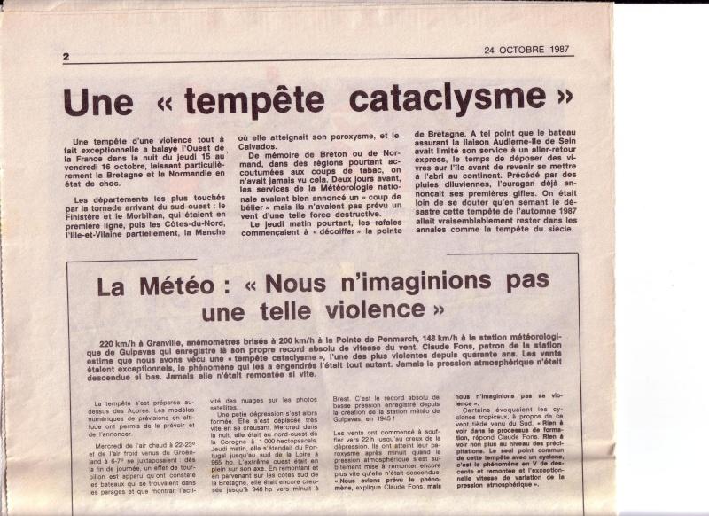 L'ouragan en Bretagne octobre 1987 210