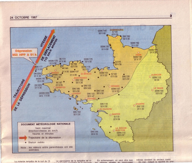 L'ouragan en Bretagne octobre 1987 310