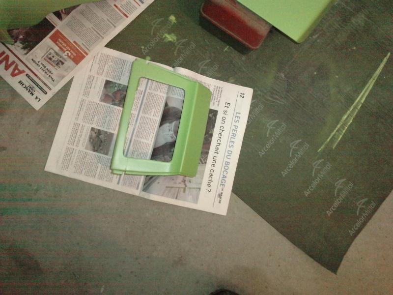 Ma verte en cours de resto peinture  P2208111