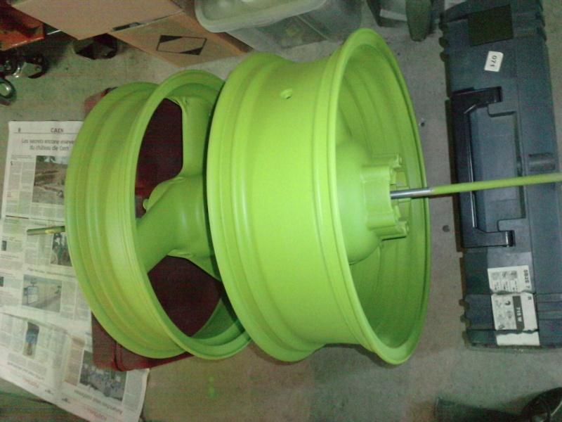 Ma verte en cours de resto peinture  P2208114