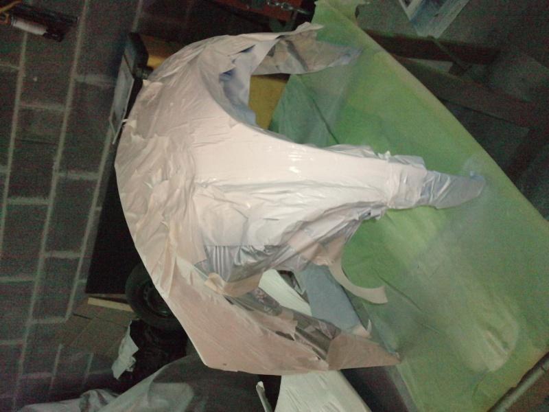 Ma verte en cours de resto peinture  P2308112