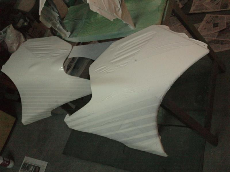 Ma verte en cours de resto peinture  P2308113