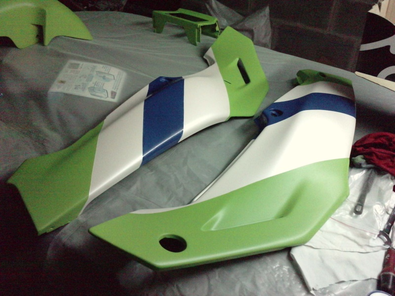 Ma verte en cours de resto peinture  P2408113