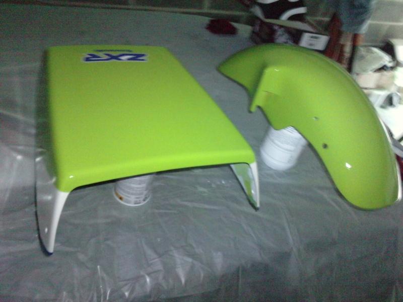 Ma verte en cours de resto peinture  P2408115