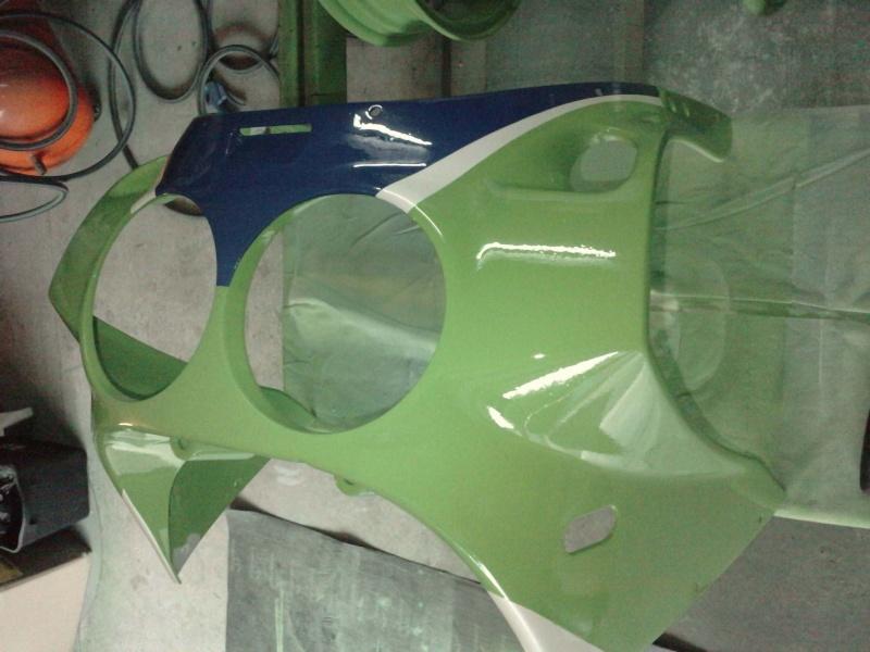 Ma verte en cours de resto peinture  P2408119