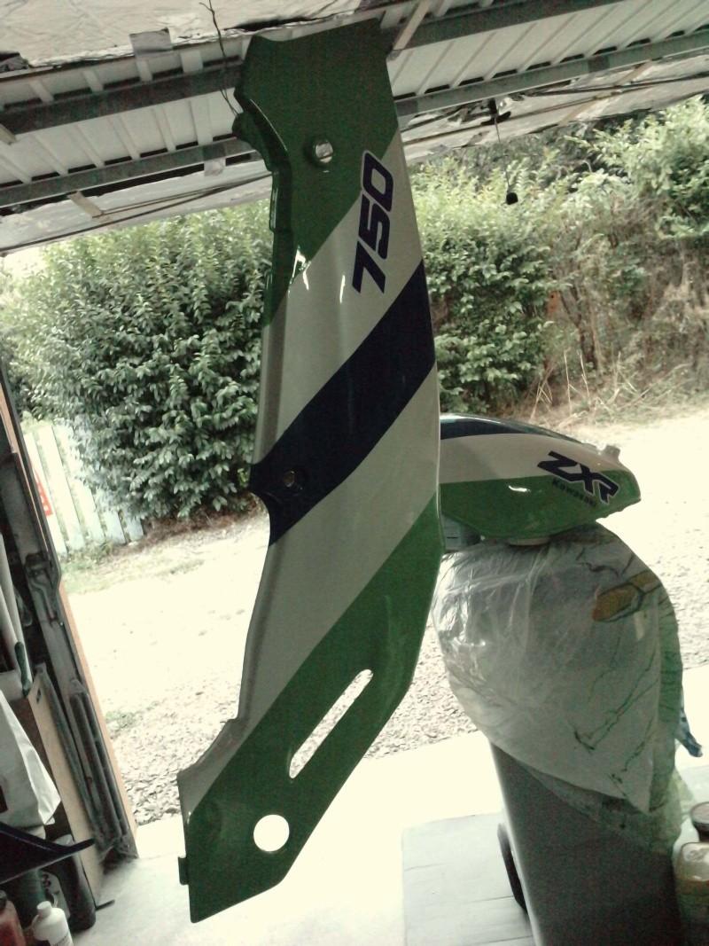 Ma verte en cours de resto peinture  P2408121