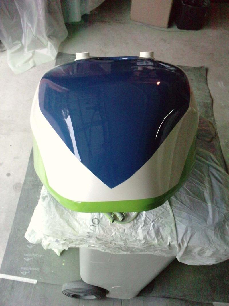 Ma verte en cours de resto peinture  P2408125