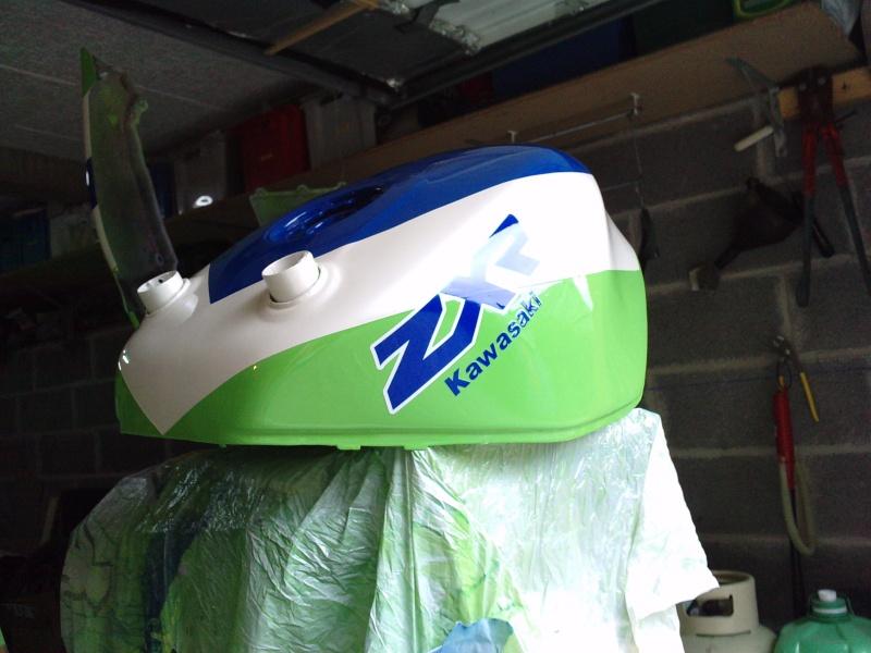 Ma verte en cours de resto peinture  P2408129