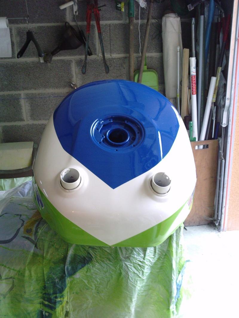 Ma verte en cours de resto peinture  P2408130