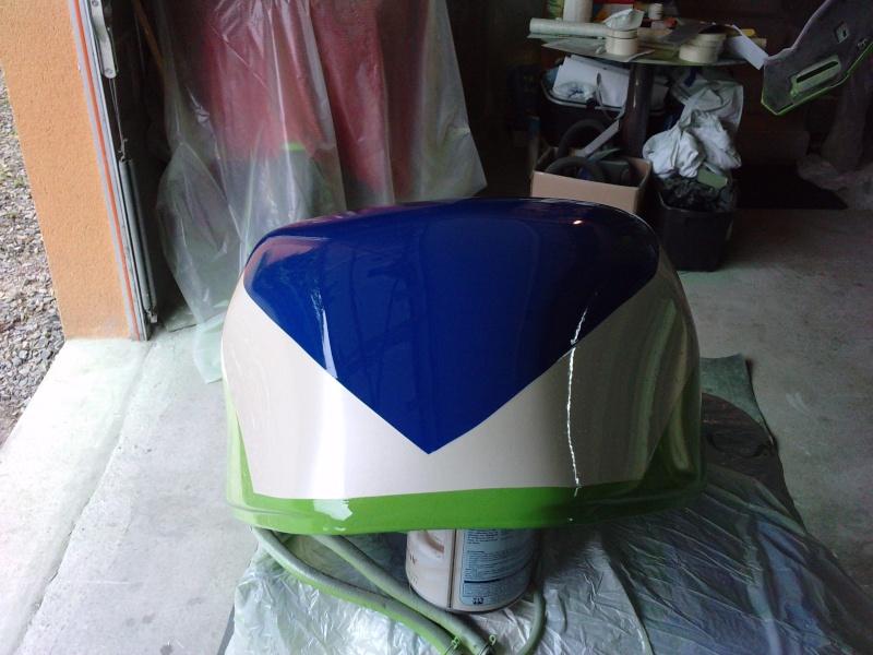 Ma verte en cours de resto peinture  P2408131