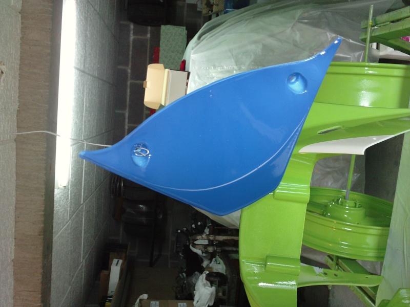 Ma verte en cours de resto peinture  P2408132