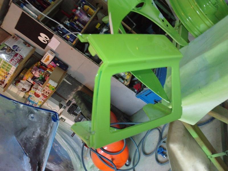 Ma verte en cours de resto peinture  P2408133