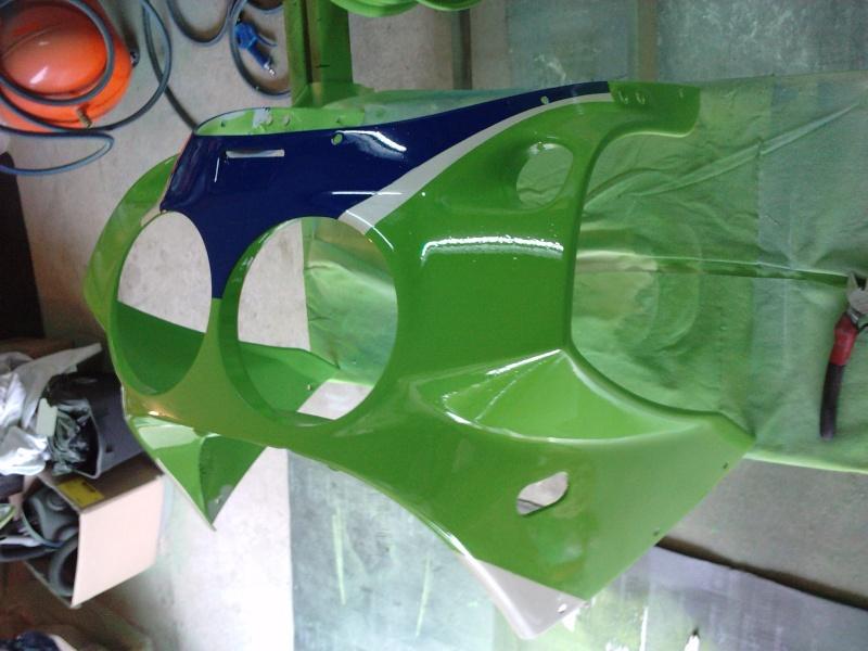 Ma verte en cours de resto peinture  P2408139