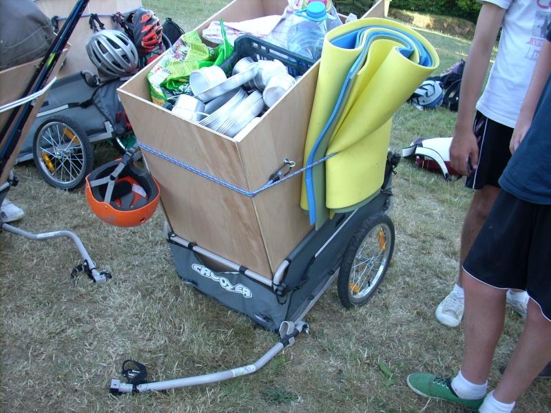 Chargement bagages d'un trike Cycloc10
