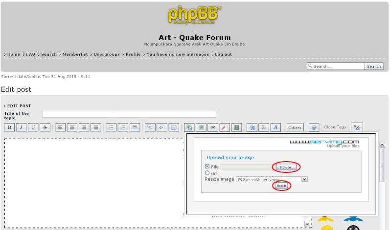 Tata Cara, Peraturan, Tanya Jawab Forum Art - Quake 211