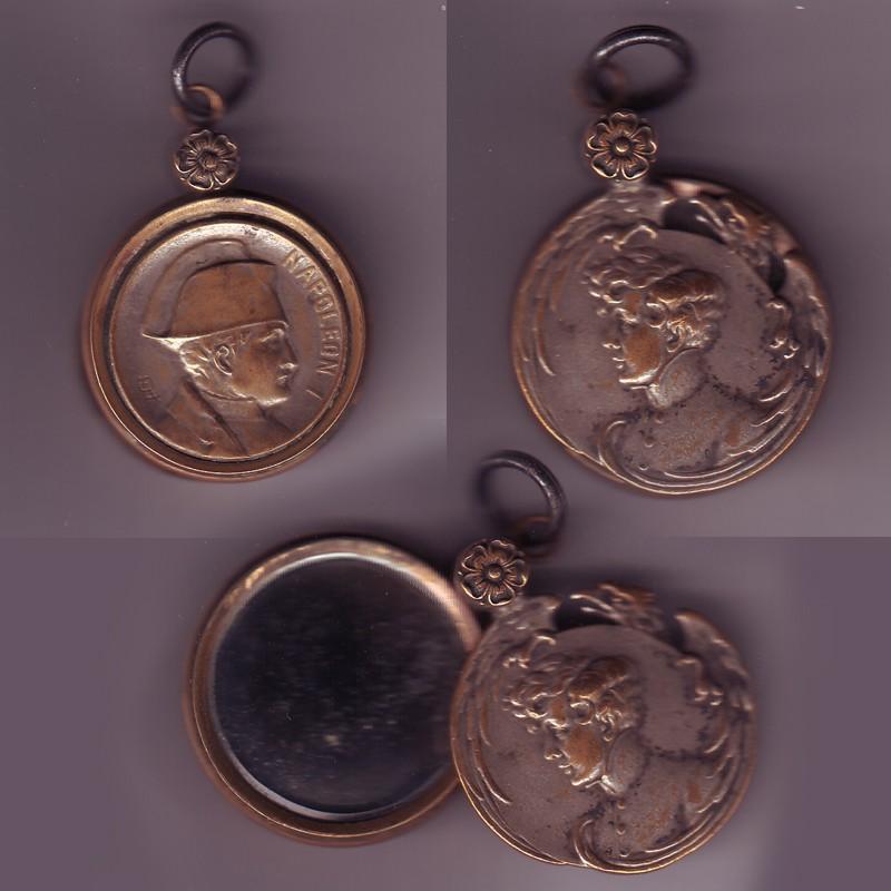 """Recherche de date pour cette médaille """"miroir"""" Serie-16"""