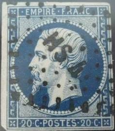 Losanges de PARIS 1852 /1863 chiffres bâton ou romaines Hs4_ba10