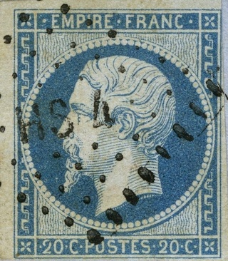 Losanges de PARIS 1852 /1863 chiffres bâton ou romaines Hs4_ro11