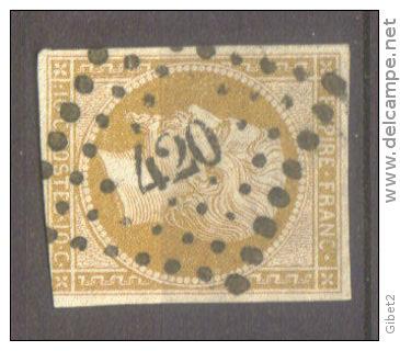 Losanges de PARIS 1852 /1863 chiffres bâton ou romaines Pc_42010