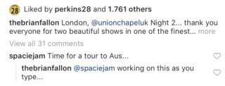 AUS tour - Brian Fallon Dd82e010