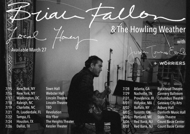 Brian Fallon & The Howling Weather US/CAN Tour summer 2020 || RESCHEDULED Euctgw12