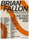 Brian Fallon & The Howling Weather European Tour spring 2022 || RESCHEDULED Europe10